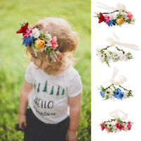 Accessories Crown   Garland Newborn Hairband Headwear Baby Flower Headband