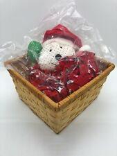 NEW AVON VINTAGE HOLIDAY MOUSE BASKET