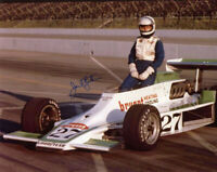 JANET GUTHRIE SIGNED AUTOGRAPHED 8x10 PHOTO FIRST FEMALE RACING RARE BECKETT BAS