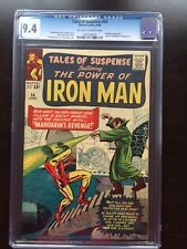 TALES OF SUSPENSE #54 CGC NM 9.4; OW-W; Kirby Mandarin cover!