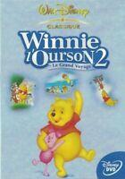 DVD LES AVENTURES DE WINNIE L'OURSON 2 LE GRAND VOYAGE WALT DISNEY