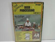 The Ultimate Deer Processing Video Dvd