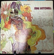 JONI MITCHELL Song to a Seagull Debut Album Released 1968 Vinyl/Record USA