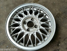 VW GOLF MK1 MK2 MK3 CORRADO ONE GENUINE BBS ALLOY WHEEL 4X100 R15 6J ET45 /7