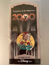 Disney Store - Countdown to the Millennium Series #63 Cruella De Vil Pin Noc