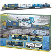 Bachmann 00734 Coastliner Electric Train Set w/ E-Z Track HO Scale