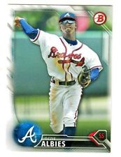 2016 Bowman Prospects #BP110 OZZIE ALBIES RC Rookie Atlanta Braves QTY AVAILABLE
