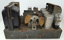 Vintage Philco Cathedral Radio Model 20 Chassis Only Untested Parts & Repair
