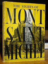 1956 The Sights Of Mont Saint-Michel, Island Commune Normandy, Brittany, France