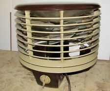 Vintage AIR FLIGHT CIRCULATORS 12-U3 Floor/Table/Hassock Fan MCM/Atomic J035