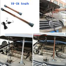 Car Hood Prop Repair Tools + Nylon Rope Kit 15''-24'' Stretchable Aluminum Alloy