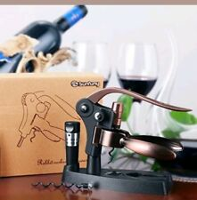 Sunfuny Premium Rabbit Wine Bottle Opener Set With Foil Cutter new