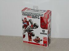 TRANSFORMERS SCOUT CLASS CONSTRUCT-BOTS: IRONHIDE - RETIRED - NEW IN SEALED BOX
