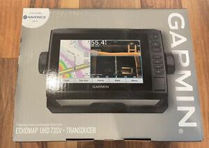GARMIN ECHOMAP UHD 73sv Chartplotter/Fishfinder Combo - 010-02338-01 - Brand New