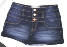 Sexy Womens High Waisted Mini Shorts Turn Up Casual Ladies Summer Hotpants 6-22