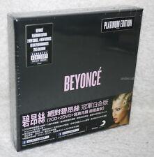Beyonce BEYONCE Taiwan Ltd 2-CD+2-DVD+2015 Calendar w/sticker