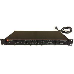 JBL UREI Electronic 7110 Limiter/Compressor Limiter Compressor Rack #00696