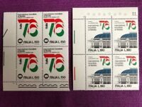 ITALIA 1976  QUARTINA ESPOSIZIONE MONDIALE ITALIA '76   MNH** LUSSO