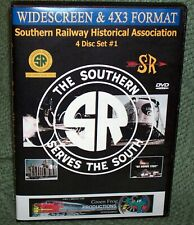"20212 Train Video Dvd ""Southern Railway Vintage Promo Films"" (Volume 1) 4-Disc"