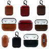 Luxury AirPods Leather Protective Design Earphone Case Cover For AirPods Pro&1/2