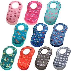Bibetta Ultrabib Waterproof Neoprene Weaning Baby Toddler Bib Feeding Unisex 6m+