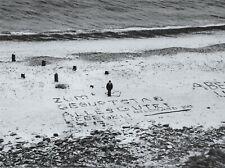 Moises Saman Magnum Photo 30x24cm Helgoland Island Man Beach Happy Birthday 2013