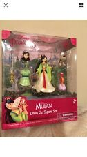Mulan Magiclip Size Doll. Magic Clip Polly Pocket. Disney.  Dress Snaps