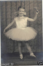 Photographie ancienne - Danseuse