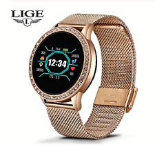Montre Connectée Moniteur Fréquence Cardiaque Fitness IP67 Tracker Android IOS
