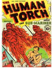 Human Torch #2 (#1) 1940 Custom Made Cover REPRINT