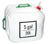 5 Gallon (20L) Outdoor Camping Hiking Collapsible Water Carrier Bag with Handle