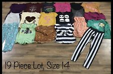 Girls Clothing Lot, 19 Items, Size 14, Old Navy, Star Wars, Jolt, Minions