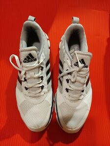 Adidas Speed Trainer 2 Mens White/Grey-Silver Running Shoes Size US 13 S84745