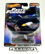 5 x Hot Wheels 2020  Fast & Furious Fast Imports Nissan Skyline GT-R R32 Black