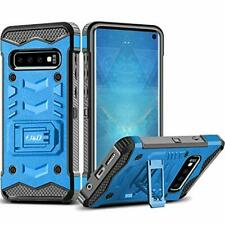 Samsung Galaxy S10 Case Full 4D Cover Shockproof w Kickstand and Belt Clip 6.1""