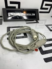 Hp Philips M1733a One Piece Ecg Ekg Cable 03 Leads Snap Aha Oem