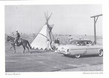 "*Postcard-""The Buffalo Ranch"" in Newport  - CLASSIC- *Orange County, CA  (#171)"