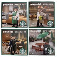 STARBUCKS X PLAYMOBIL Joy 70497 Jun 70496 Roy 70616 Furniture 70617 + Tracking