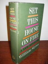 Set This House On Fire William Styron 1st Edition Novel First Printing Fiction