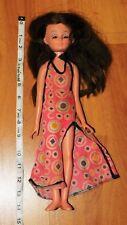 "New ListingVintage 1972 Uneeda 14"" Brunette Clover Doll Sleep Eyes Hong Kong"