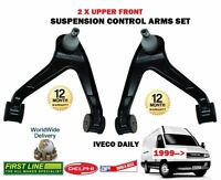FOR IVECO DAILY 1999->NEW 2 X UPPER LEFT + RIGHT WISHBONE SUSPENSION ARM SET