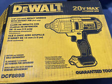 """DeWalt DCF889B, 1/2"""" Impact Wrench with Detent Pin, TOOL ONLY, FREE SHIPPING"""