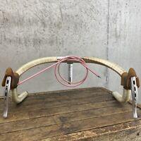 Vintage Track Handlebar Specialized II Bars 42 Stem Rare 7 Eleven Road Bike