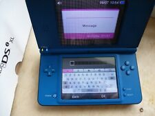 Nintendo DSi XL Console - Midnight Blue