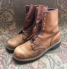 Vintage Red Wing Irish Setter Sports Boots USA Made Size 8