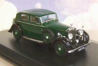 OXFORD 1/43 1936-1938 ROLLS ROYCE 25/30 THRUPP & MABERLY DK GREEN/BLACK 43R25002