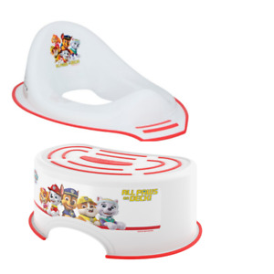 Nickelodeon PAW Patrol Step Stool + Toilet Training Seat Combo