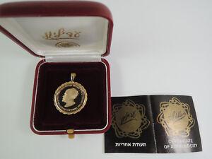 1986 David Ben-Gurion Centennial Of Birth Gold State Medal Adillion-Medallion