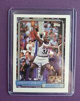 Shaquille SHAQ O'Neal 🔮Rookie Card 1992-93 Topps #362 92 Draft Pick HOF Magic b