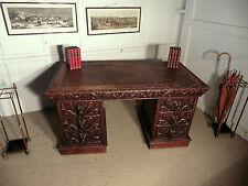 Oak Victorian Antique Desks